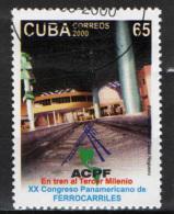 CUBA - 2000 - CONGRESSO SULLE FERROVIE PANAMERICANE - USATO - Used Stamps