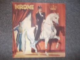 """10543-OPUSCOLO CIRCO """"KRONE"""" - TOURNEE ITALIANA 1953-1954 - Programmi"""