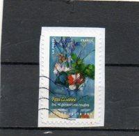 FRANCE   Lettre Verte 20 G    2015    Y&T :1121      Adhésif   Sur Fragment Oblitéré - Adhesive Stamps