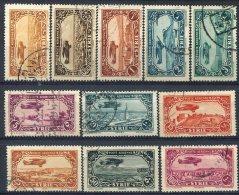 Syrie                     PA    50/59   Oblitérés               ( 11 Valeurs ) - Syria (1919-1945)