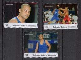 Micronesia 2014 - Lotta Greco-romana Greco-roman Wrestling Keitani Graham MNH ** - Micronesia