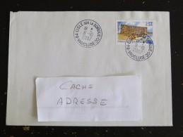 L ISLE SUR LA SORGUE CC - VAUCLUSE - CACHET ROND MANUEL SUR YT 3415 CHATEAU GRIGNAN - Marcophilie (Lettres)