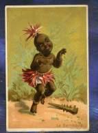 Chromo Au Bon Marche Bm57 Danse African Dance Afrique Africa Bamboula 1880' - Au Bon Marché