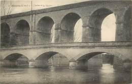 - Indre Et Loire -ref A557- Monts - L Indre Et Le Viaduc - Viaducs - Pont - Ponts - Carte Bon Etat - - Autres Communes