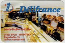 FRENCH PRODUCTS DELIFRANCE SPLIT POCKET CALENDAR CROATIA 1998 - Petit Format : 1991-00