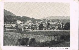 18124. Postal Privada Chocolat LOUIT.  Vue  Generale ARGELES Sur MER ( Pyrenées Orientales) - Argeles Sur Mer