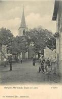 - Indre Et Loire -ref A547- Marigny Marmande - Charron - Charrons - Metiers - Carte Bon Etat - - France