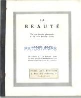 39804 LIBRILLO LA BEAUTÉ ALBUM XXVII PARIS MODEL'S WOMAN'S SENSUAL NUDE EROTIC NO POSTCARD - Affiches
