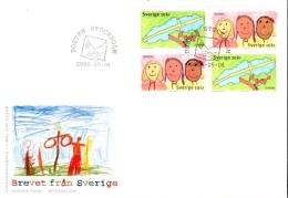 FDC Suède Europa 2006 - Intégration - Stockholm 04/05/06 - FDC