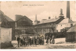 ARTRES ,,,,RUE Du  PAVE,,,,LA  SUCRERIE,,,,VOYAGE  1906,,, - Autres Communes