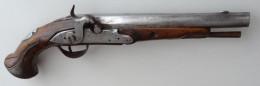 Pistolet Des Gardes Du Corps Du Roi Modèle 1770 Transformé à Piston - Armes Neutralisées