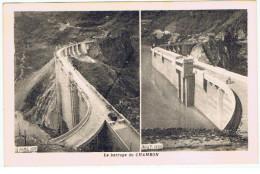 "France:38.Isere.""Le Barrage Du Chambon   1935"" - Francia"