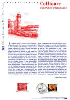 """(Prix à La Poste = 5.00 €) Document Philatélique Officiel De 2002 """" COLLIOURE """" N° YT 3497. DPO - 2000-2009"""