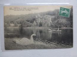 41 FRETEVAL Chalet Du Loir, Rotschild, CYGNE Paysagé Belle CP Ancienne ; Ref 517 - Non Classés