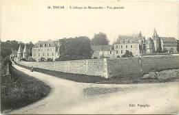 - Indre Et Loire -ref A510 - Sainte Radegonde - Ste Radegonde - Vue Generale De L Abbaye De Marmoutier - Abbayes - - France