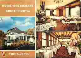 68 - Trois Epis - Hotel-Restaurant Croix D'Or - Multivues - Voir Scans Recto-Verso - Trois-Epis