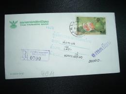 LR TP FRUIT CITRUS MAXIMA MERR 6 B OBL. PAKCHONG + THAI FARMERS BANK + ETIQUETTE ROSE - Food