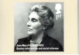 Joan Mary Fry - Réformatrice Sociale - Carte PHQ + Timbre ** - 2012 - 1952-.... (Elizabeth II)