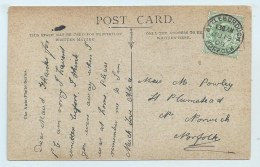 Single Circle - Gorleston - Attleborough - Norfolk On PC - Postmark Collection