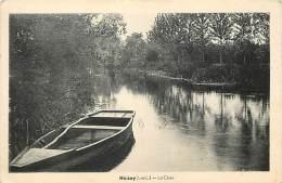 - Indre Et Loire -ref A490 - Noizay - La Cisse - Barque - Carte Bon Etat - - France