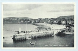 Peel - From The Castle. - Salmon - Isle Of Man