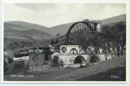 Laxey Wheel. - Salmon - Isle Of Man