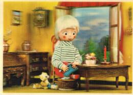 CARTE POSTALE 3D LENTICULAIRE  Enfant Et Jouets - Stereoscopische Kaarten