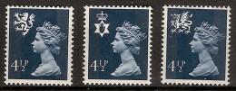 Gran Bretaña  739/741 ** MNH. 1974 - 1952-.... (Elisabetta II)