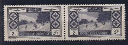 Lebanon1936: PA51pair Mnh** - Great Lebanon (1924-1945)