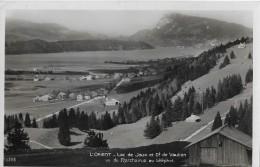 L'ORIENT → Lac De Joux Et Dent De Vaulion, Vu Du Marchairuz Au Téléphot. 1932 - VD Waadt