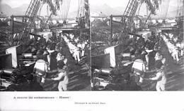 # Carte Stéréoscopique - A Rentrer Les Embarcations - Hissez! - Estereoscópicas