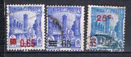Timbres De 1934 Surchargés N°182 183 & 205 - Gebruikt