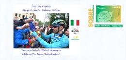 SPAIN, 2016 Giro D´Italia, Stage 12: Noale - Bibione, Vincenzo Nibali (Italy) Signing In (Astana Pro Team, Kazakhstan) - Ciclismo