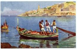 MALTA : A FISHING BOAT - Malta