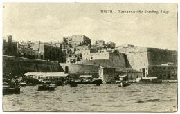 MALTA : MARSAMUSCETTO LANDING STAGE - Malta