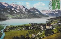 SARNEN → Kirchhofen, Als Alles Noch Nicht Verbaut War 1910 - OW Obwalden