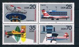 DDR Michel Nr. 2516 - 2519 VB Postfrisch - Unused Stamps