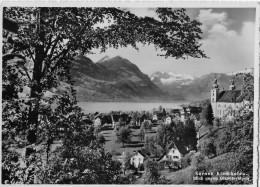 SARNEN → Kirchhofen Gegen Giswileralpen Und Hotel Mühle, Ca.1950 - OW Obwalden