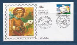 Env Fdc 8/5/97 Paris, N°3062 Y Et T , Les Journées D´une Lettre, Pli Roulant , Stylo Plume - FDC