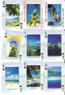 Complete Set Of 52 Playing Cards + 2 Jokers Caribbean Photos - Géographie