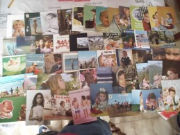 LOT DE 50 CARTES ENFANTS - Cartoline