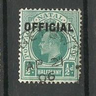 NATAL O 1906 Revenue Stamp Edward O - South Africa (...-1961)
