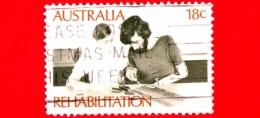 AUSTRALIA - Usato - 1972 - Disabiità - Riabilitazione - Handicap - Rehabilitation Of The Disabled - Therapy - 18 C - 1966-79 Elizabeth II