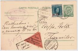 1923, GA 15 C. Als NN Und Reco!   , #5809 - Briefe U. Dokumente