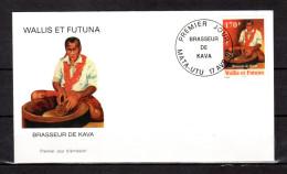 """Enveloppe 1er Jour De 1997 """" BRASSEUR DE KAVA / MATA - UTU Le 17-04-1997 """" N° YT 501. Parf état. FDC - FDC"""