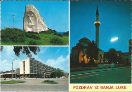 Banja Luka,Bosnia -  Mosque.Islam Monument.UNUSED POSTCARD - Islam