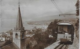 MONTREUX → Eglisé De Montreux Et Chemin De Fer Montreux - Glion 1922 - VD Waadt