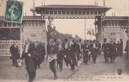 Lyon Voyage Présidentiel M.Poincaré Quitte L'Exposition Lyon - Demonstrations