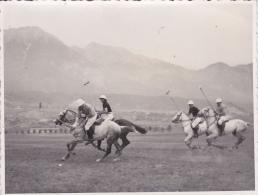 Autriche - INNSBRUCK -  Photographie Authentique 1948 - Sport - Le Polo - Cheveaux Militaires D Une Armee - Innsbruck