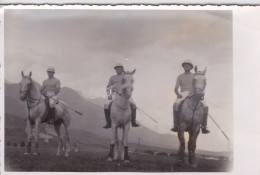 Autriche - INNSBRUCK -  Clichés Militaire Authentique 1948 - Sport - Le Polo - Cheveaux D Une Armee - Innsbruck